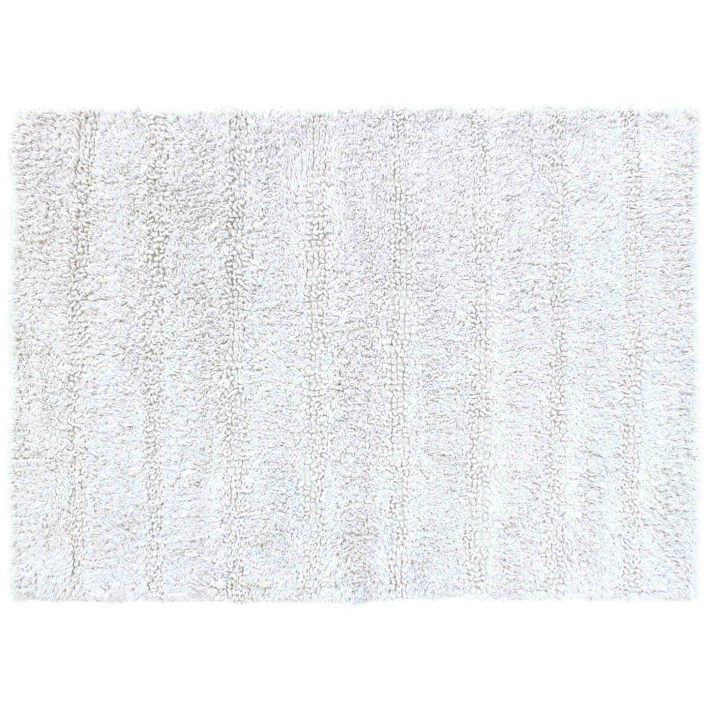 Tapis de bain - 50 x 70 cm - Essencia - Différents coloris : Couleur:Blanc