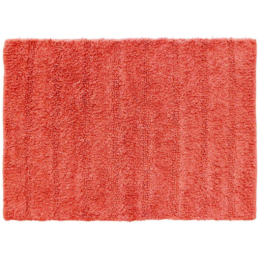 Tapis de bain - 50 x 70 cm - Essencia - Différents coloris : Couleur:Corail