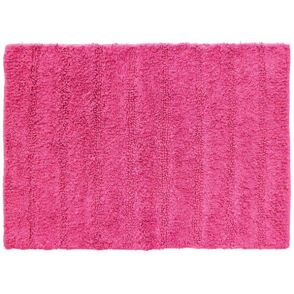 Tapis de bain - 50 x 70 cm - Essencia - Différents coloris : Couleur:Fuchsia