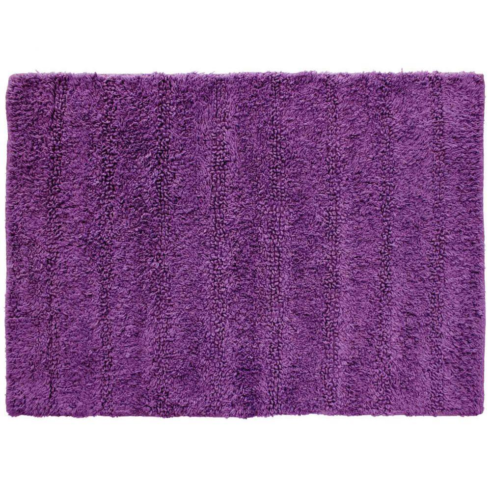 Tapis de bain - 50 x 70 cm - Essencia - Différents coloris : Couleur:Prune