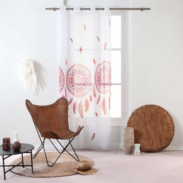 Panneau voile - Oeillets - 140 x 240 cm - Légende, attrape-rêves