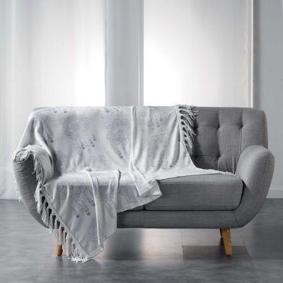 Plaid polaire - 125 x 150 cm - Flanelle - Bengala - Deux coloris