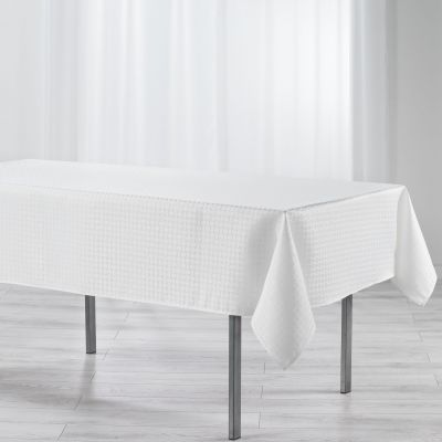 Nappe anti-tache - Rectangle - 140 x 300 cm - Jacquard - Maillon - différents coloris