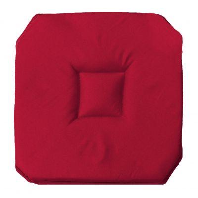 Galette de chaise - 4 rabats - 35 x 35 cm - Essentiel