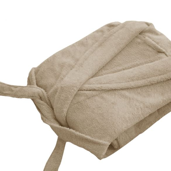 Peignoir adulte Taille S - Col chale éponge