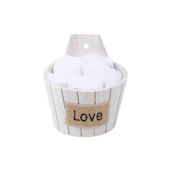 Coffret 5 serviettes - 30x30 - 100% coton - Douceur