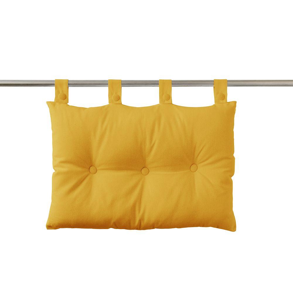 Tête de lit à pattes - 50 x 70 cm - uni Today : Couleur:Safran