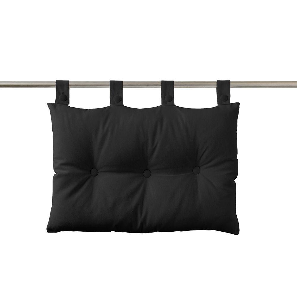 Tête de lit à pattes - 50 x 70 cm - uni Today : Couleur:Réglisse