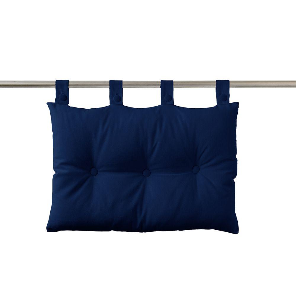 Tête de lit à pattes - 50 x 70 cm - uni Today : Couleur:Ciel d'orage