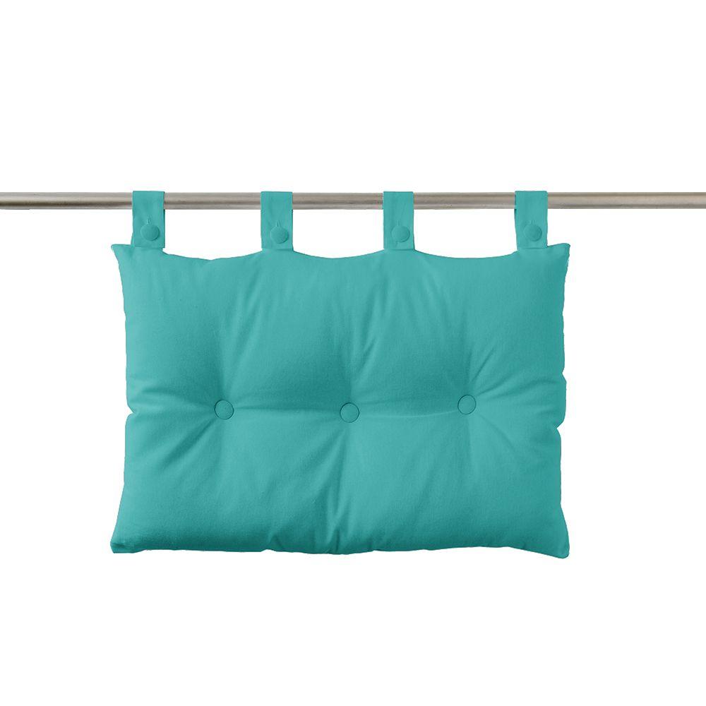 Tête de lit à pattes - 50 x 70 cm - uni Today : Couleur:Diabolo menthe