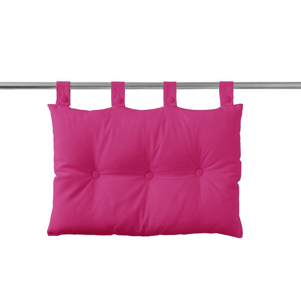 Tête de lit à pattes - 50 x 70 cm - uni Today : Couleur:Jus de myrtille
