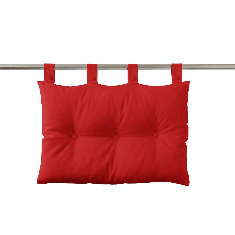 Tête de lit à pattes - 50 x 70 cm - uni Today : Couleur:Pomme d'amour