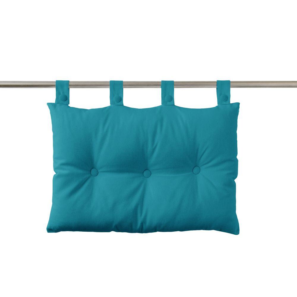 Tête de lit à pattes - 50 x 70 cm - uni Today : Couleur:Mer du sud
