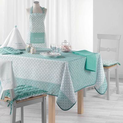 Nappe anti-tache - Rectangle - 150 x 240 cm - Lucie - Différents coloris