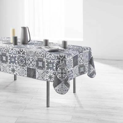 Nappe anti-tache - Rectangle - 150 x 240 cm - Persane, mosaïque