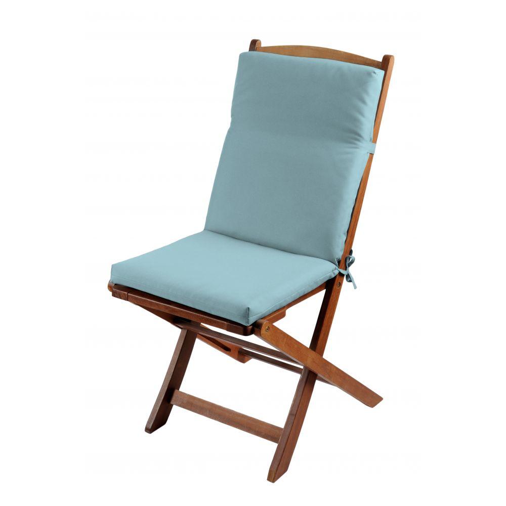 Coussin de fauteuil spécial extérieur - 90 x 40 cm - Sunny - Différents coloris : Couleur:Glacier