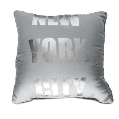 Coussin - 40 x 40 cm - NY - Silver - Différents coloris