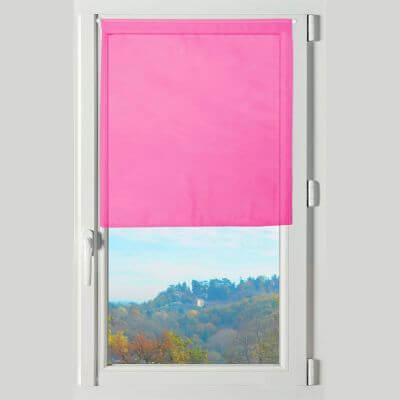 Rideau brise bise - 60 x 120 cm - Lisa - Différents coloris