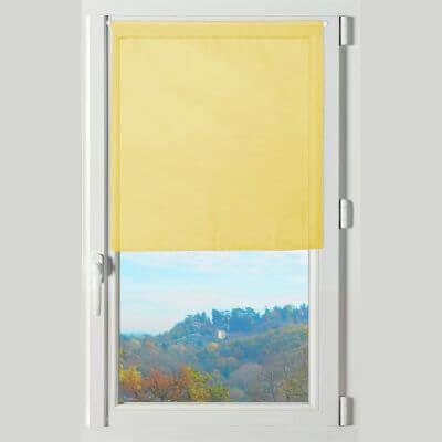 Rideau brise bise - 60 x 60 cm - Lisa - Différents coloris