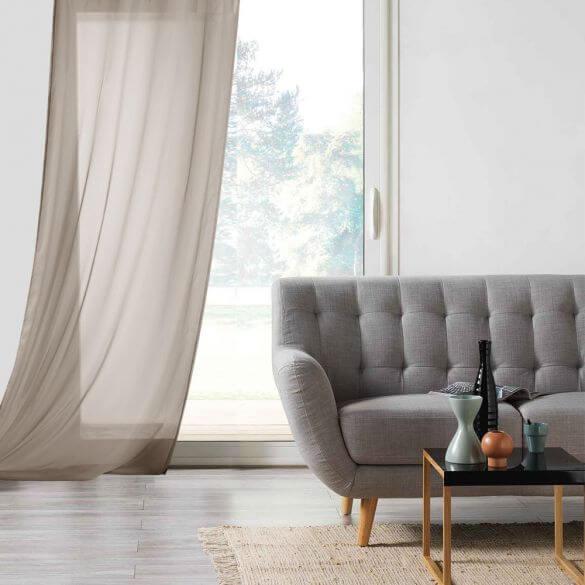 Panneau voile - Oeillets - 135 x 260 cm - Lisa - Lin