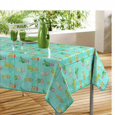 Nappe rectangle - Little cactus - 140 x 240 cm - PVC