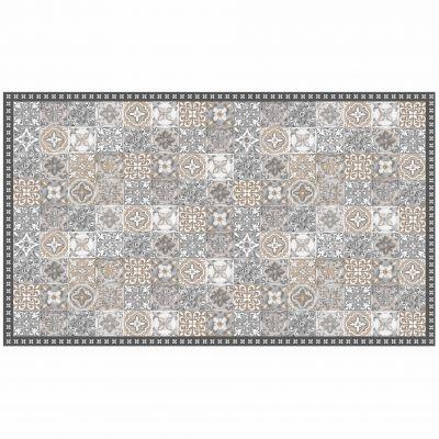 Tapis rectangle - Mosaïque et faïence - 100 x 170 cm - Vinyle