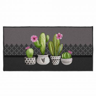 Tapis déco rectangle - Cactus - 57 x 115 cm
