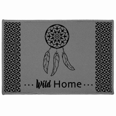 Tapis déco rectangle - Attrape-rêves sauvage - 40 x 60 cm