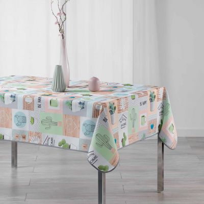 Nappe rectangle - Cactus - Home - 150 x 240 cm - Polyester