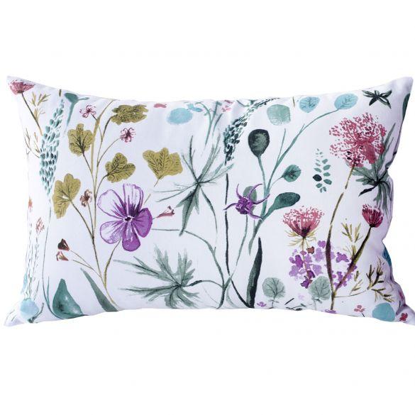Coussin - Fleurs de printemps - 30 x 50 cm - coton