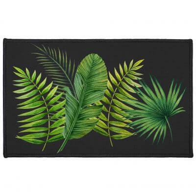 Tapis antidérapant - 50 x 80 cm - Tropical
