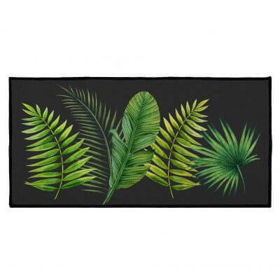 Tapis antidérapant - 57 x 115 cm - Tropical