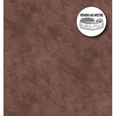 Toile cirée au mètre - Largeur 140 cm - Unie - Cacao