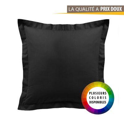 Taie d'oreiller - Carrée - 60 x 60 cm - Différents coloris