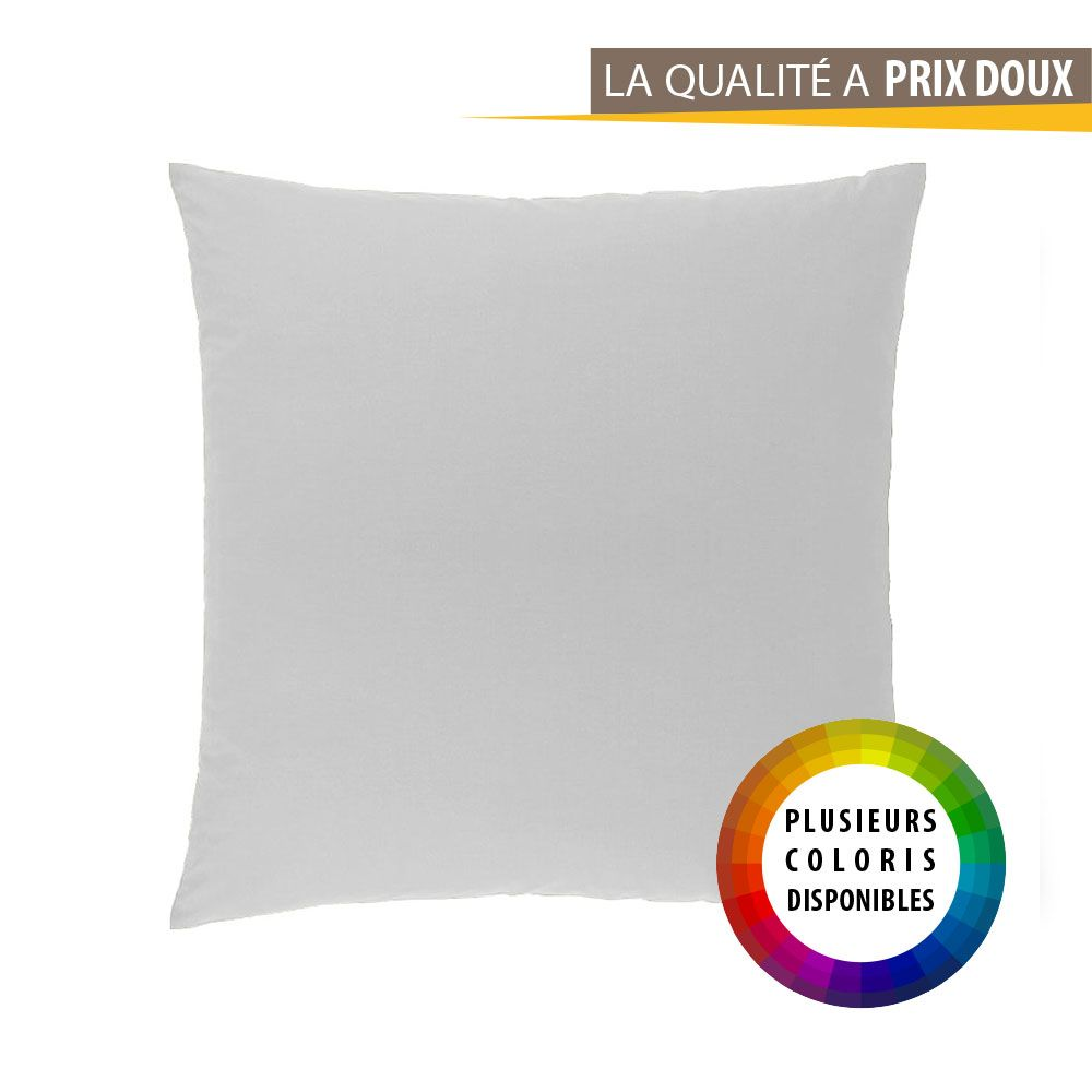Taie d'oreiller carrée - 63 x 63 cm - Atmo - unie : Couleur:Anis