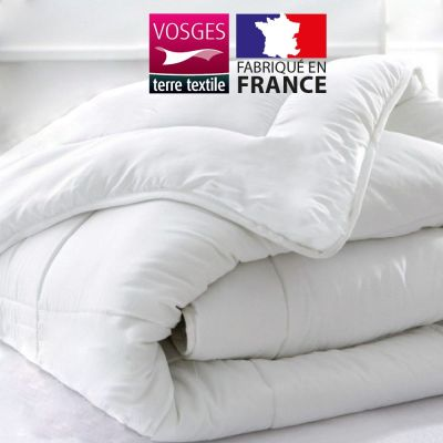 Couette blanche - 240 x 220 cm 400 gr/m² -  France