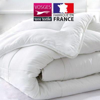 Couette blanche - 140 x 200 cm 400 gr/m² - Microfibre France
