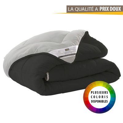 Couette réversible - Bicolore - 140 x 200 cm - 400 gr