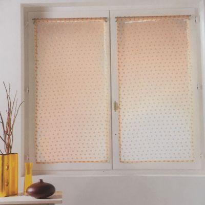 Panneau voile passe tringle - 2 x 60 x 90 cm - Orange