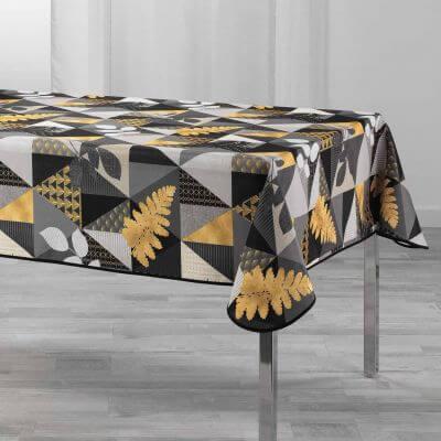 Nappe antitache rectangulaire - 150 x 240 cm - Polyester - Motifs modernes et graphiques