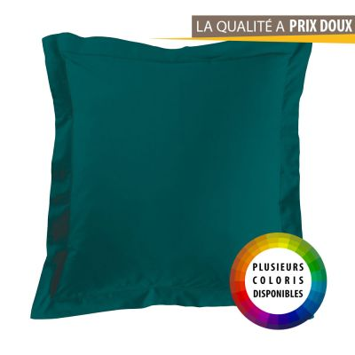 Taie d'oreiller carrée - 63 x 63 cm - Point bourdon - 57 fils - Uni