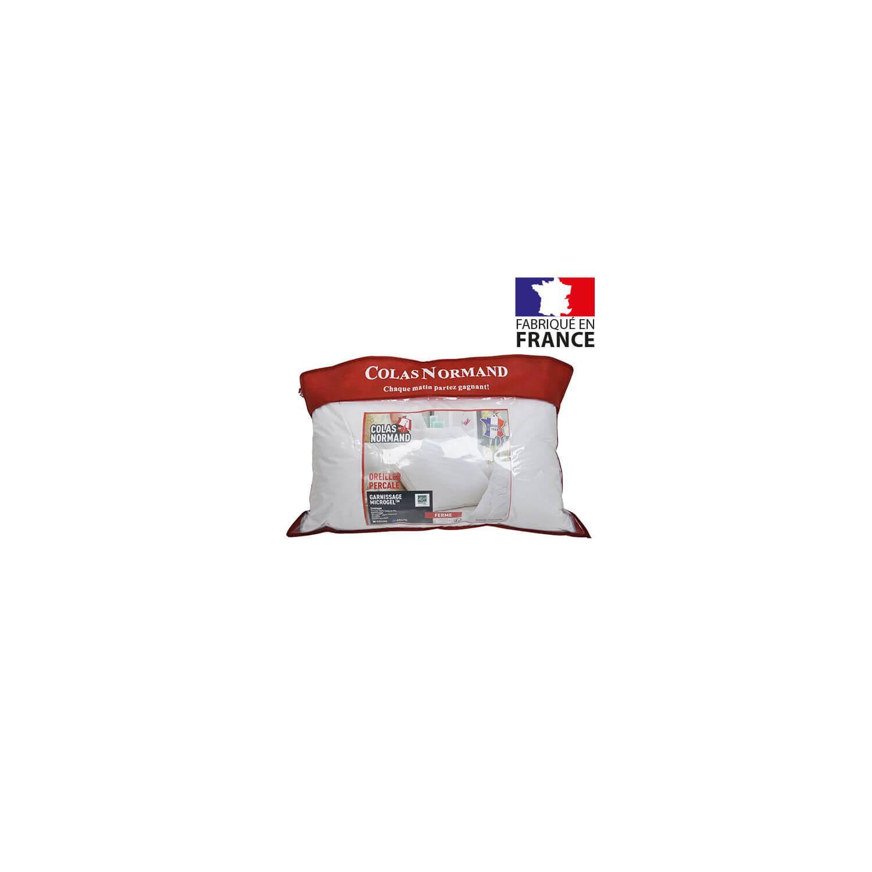 Oreiller à mémoire de forme microgel - 45 x 70 cm - France -