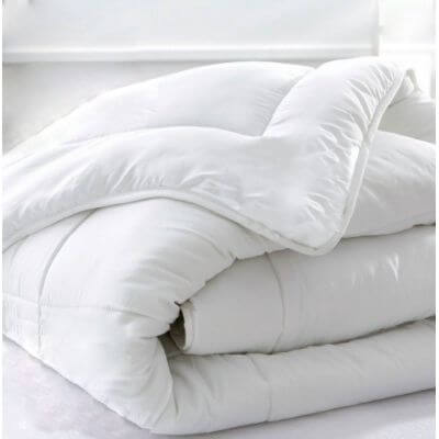 Couette hiver percale quality gel - 240 x 220 cm - 450g/m² Made in France