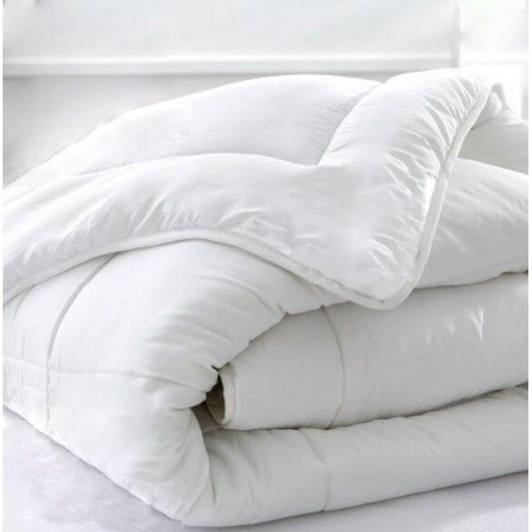 Couette hiver coton bio - 240 x 220 cm - 400g/m² France -