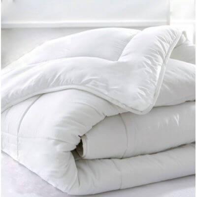 Couette hiver coton bio - 260 x 240 cm - 400g/m² France -