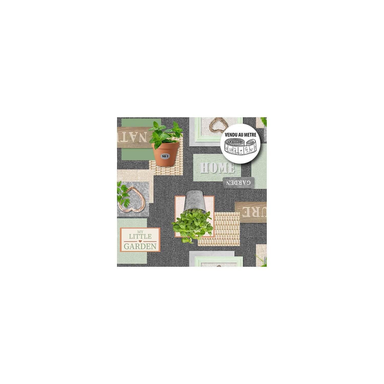 Toile cirée au mètre - Largeur 140 cm - Garden