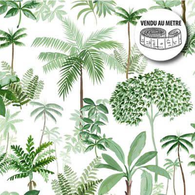 Toile cirée au mètre - Largeur 140 cm - Amazonie
