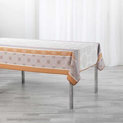 Nappe antitache rectangulaire - 150 x 240 cm - Motifs géométriques