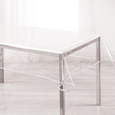 Nappe - Cristal transparent rectangle - 140 x 240 cm - Garden
