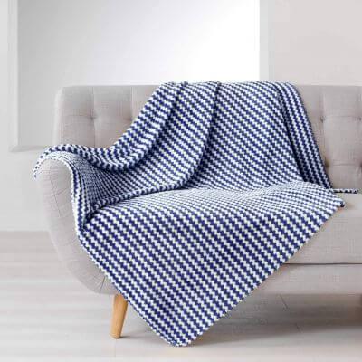 Plaid en flanelle - 125 x 150 cm
